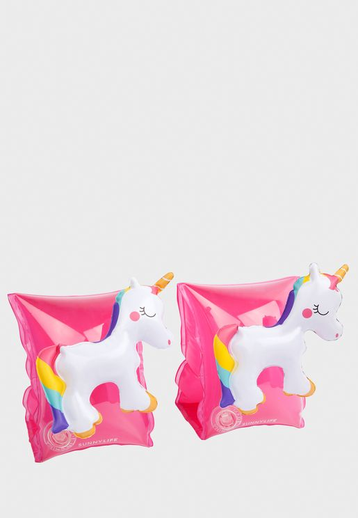 Unicorn Pool Float Arm Bands