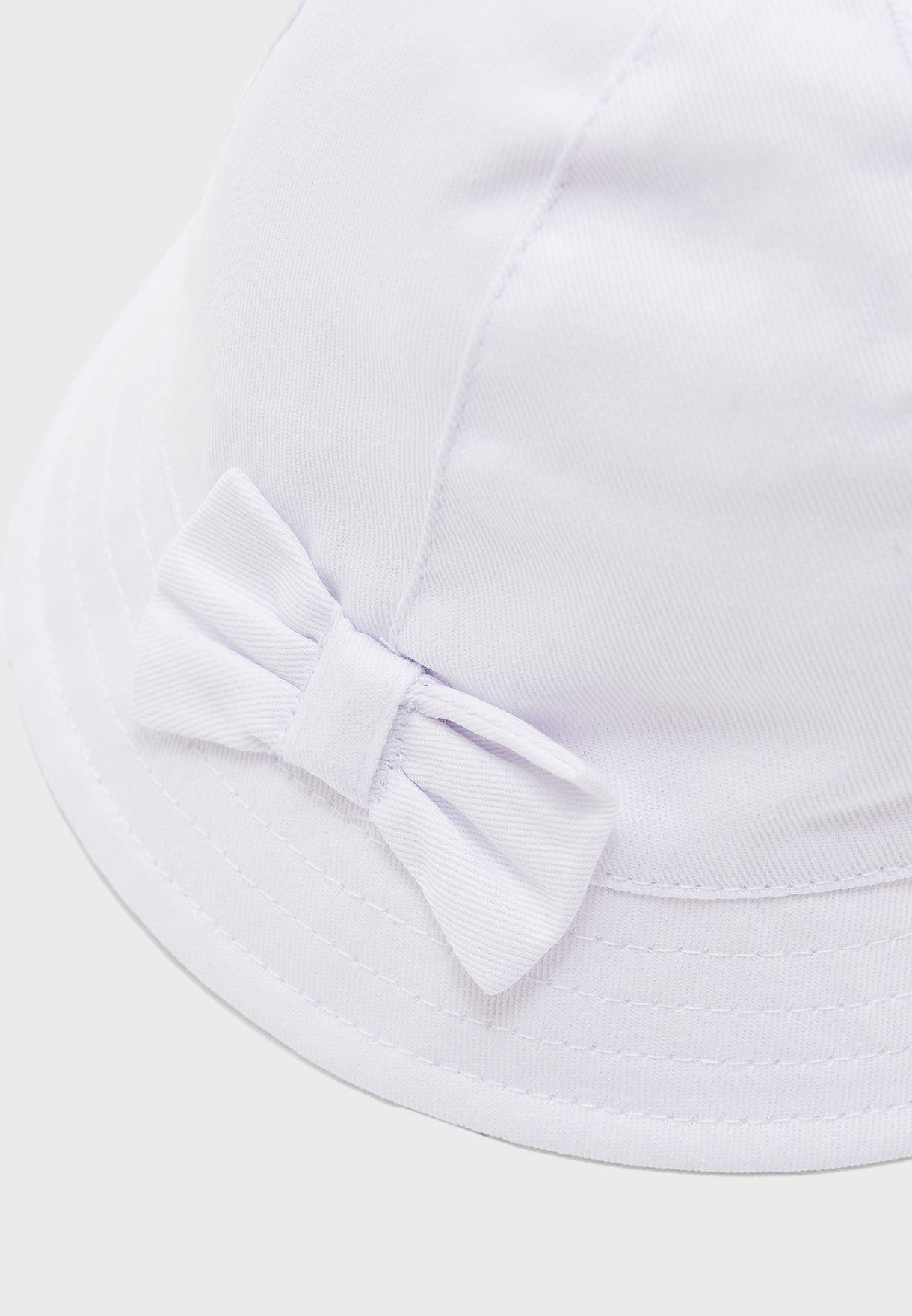 Kids Bow Detail Hat