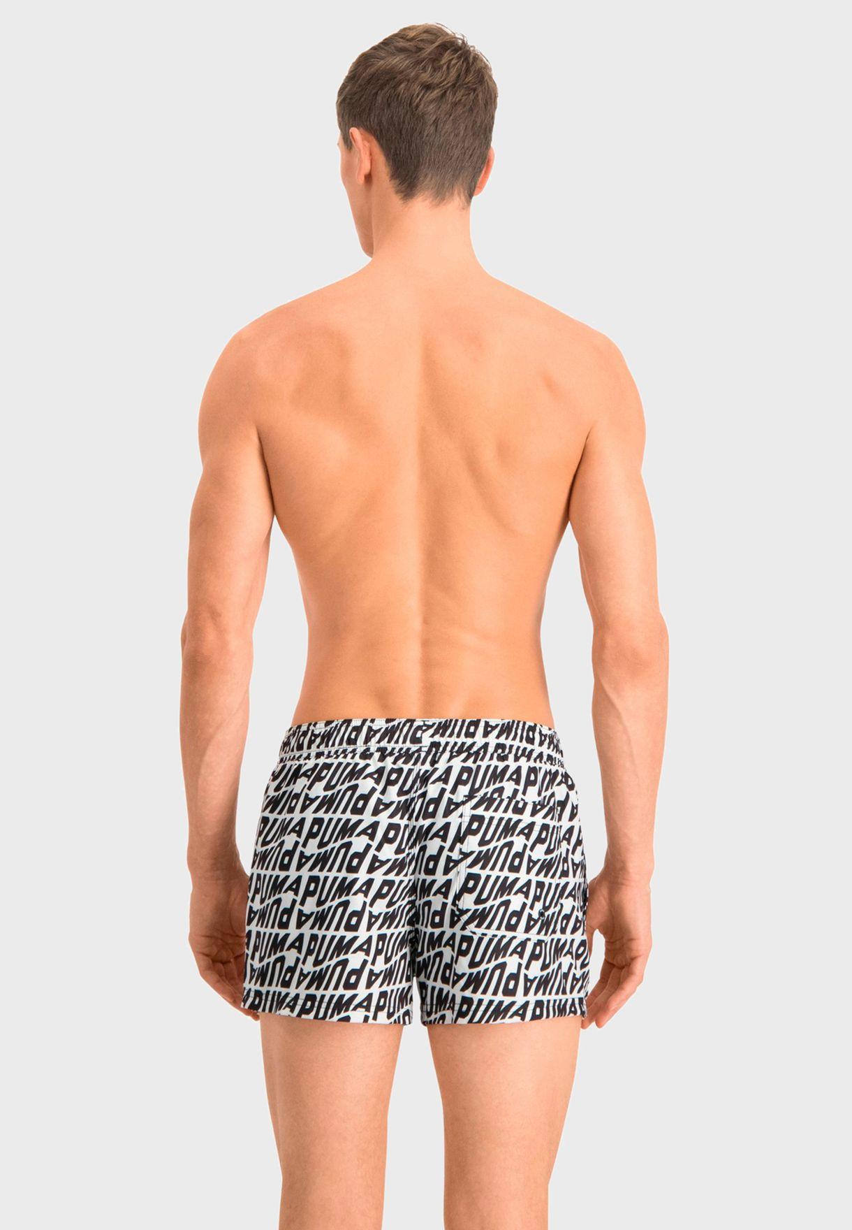 Wave AOP Swim Shorts