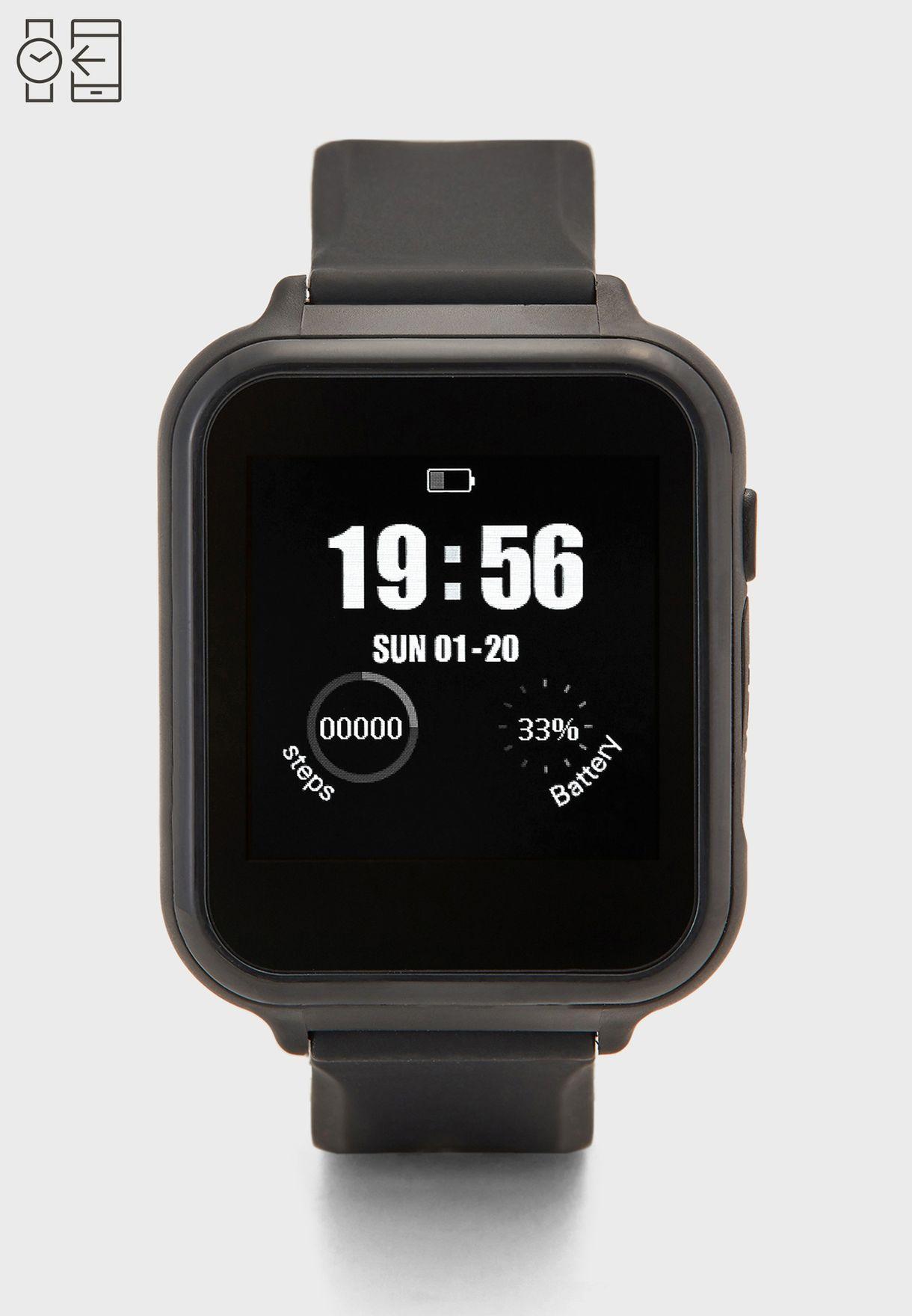 ساعة ذكية ديجيتال