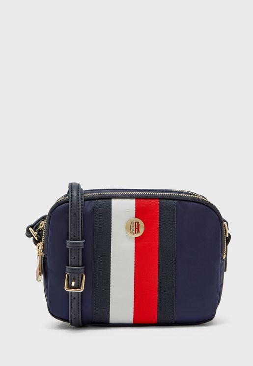 حقيبة جانبية بسحاب