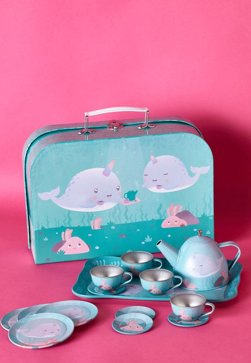 Narwhal Tea Set