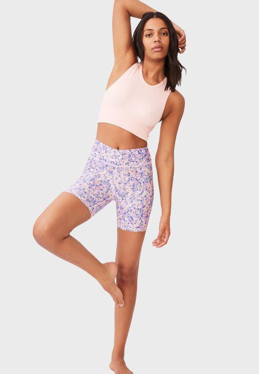 Strike A Pose Yoga Shorts