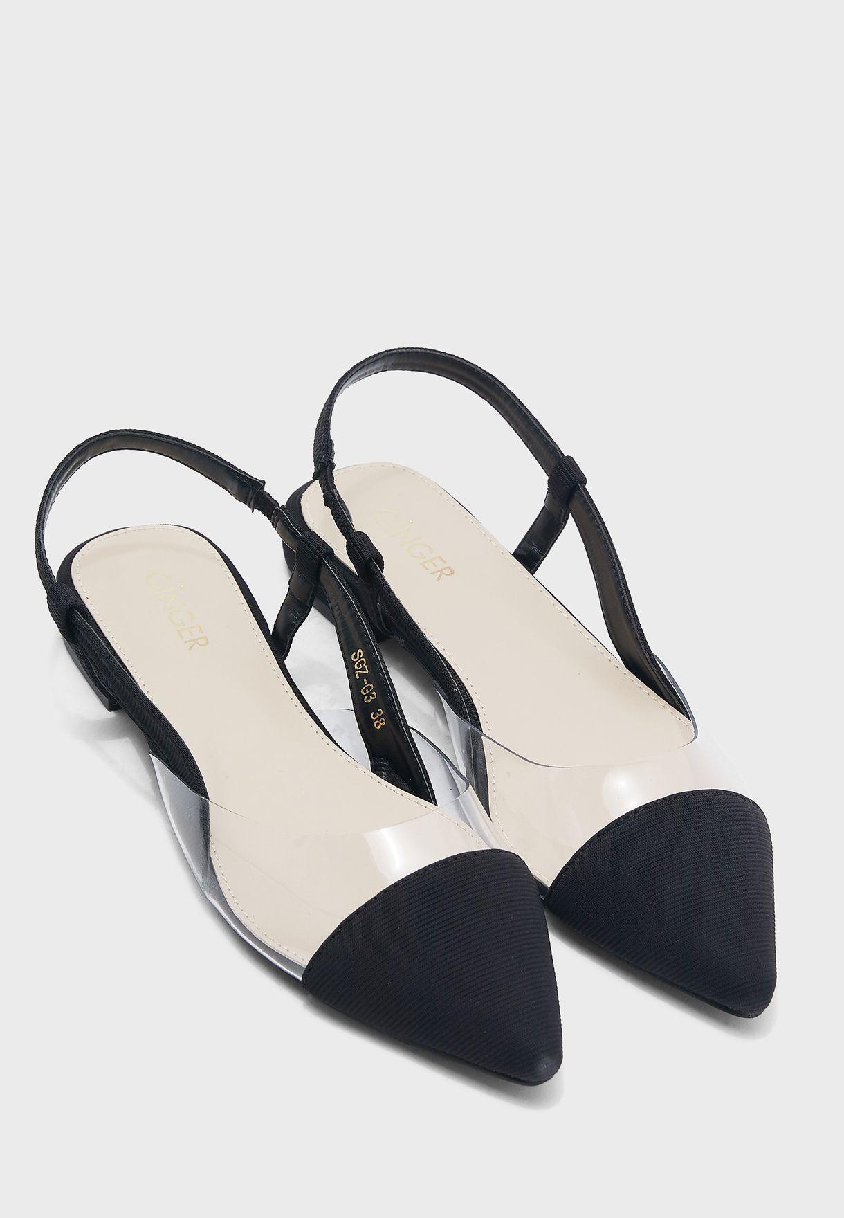 حذاء كعب فلات