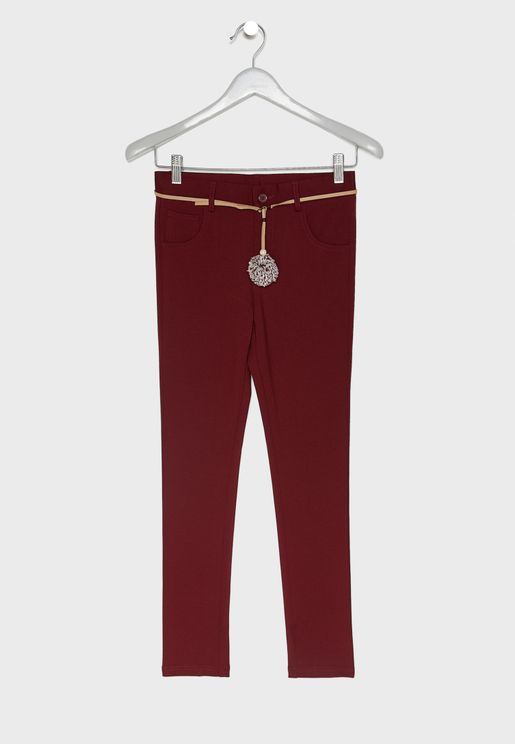 Little Trousers with Belt