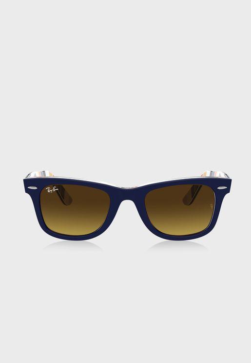 0RB2140 Cat Eye Sunglasses