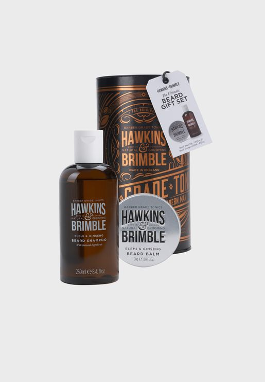 Beard Shampoo And Balm Set