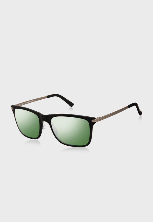 L CO21201 Square Sunglasses
