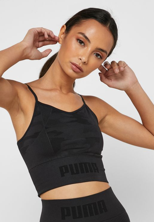 evoKNIT Seamless Cropped Top
