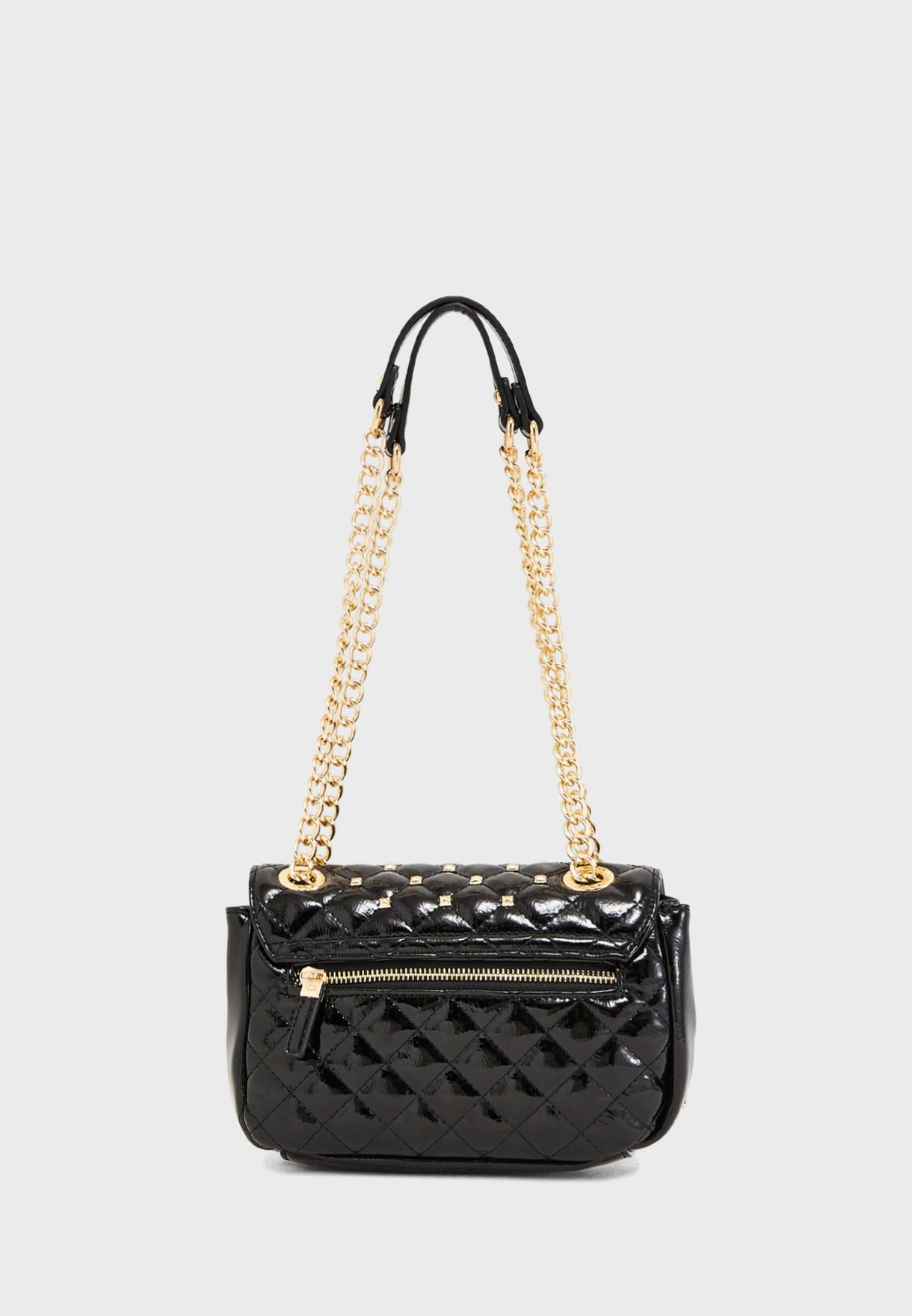 Carpisa Chain Detail Quilted Crossbody