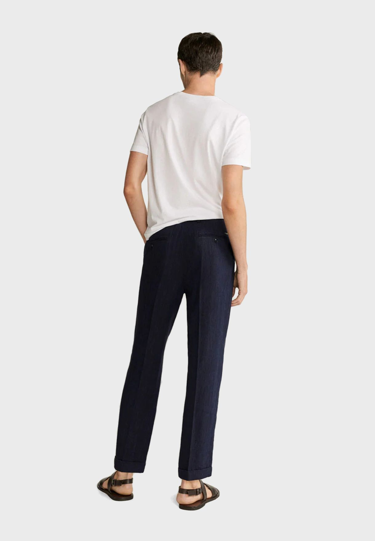 Drawstring Relaxed Trousers