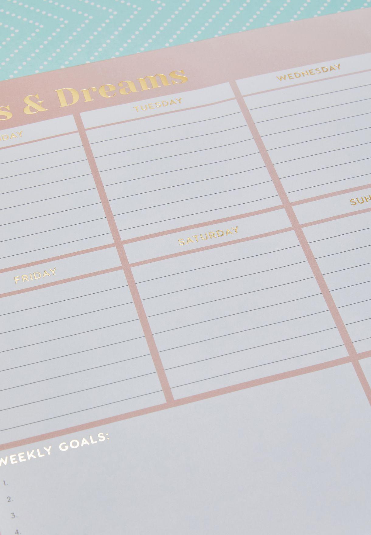 دفتر تخطيط