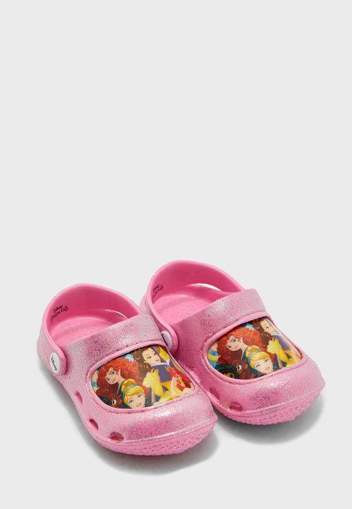 Kids Disney Princess Clog Sandal
