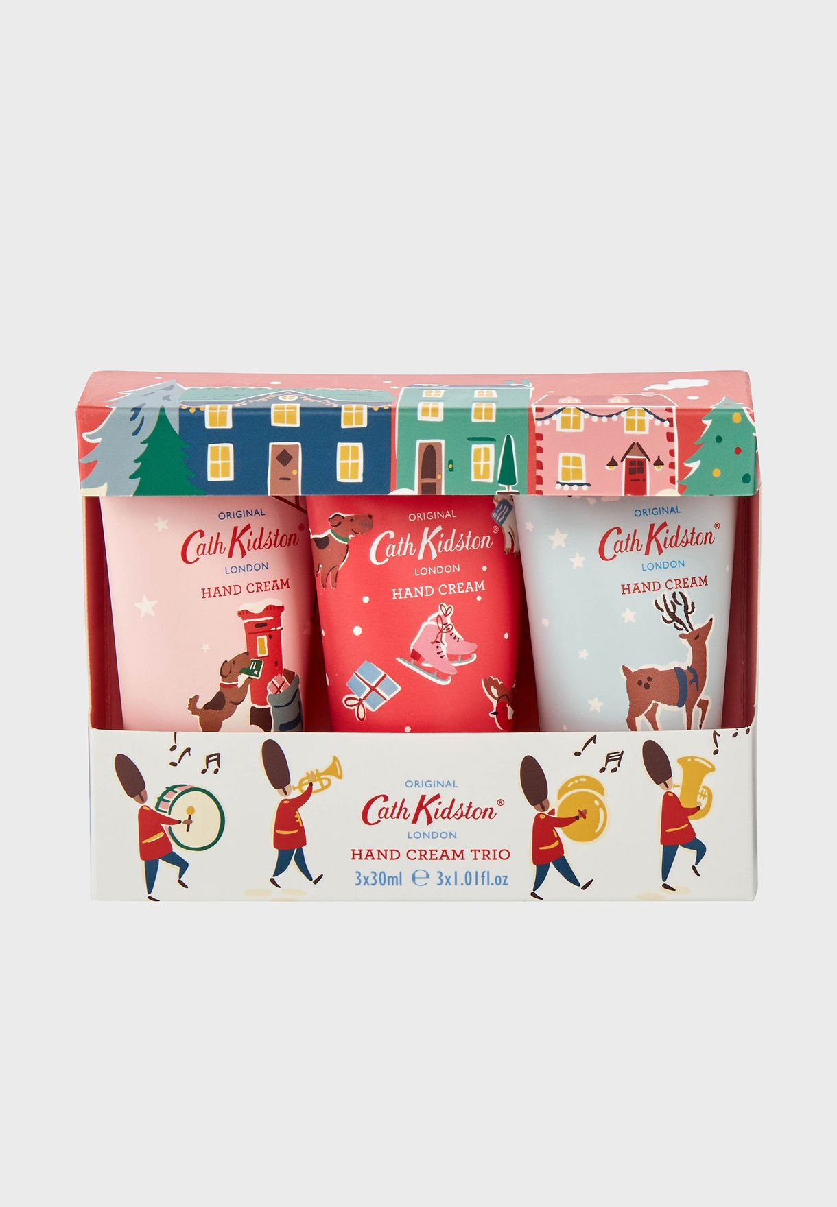 3 Pack Christmas Village Hand Cream