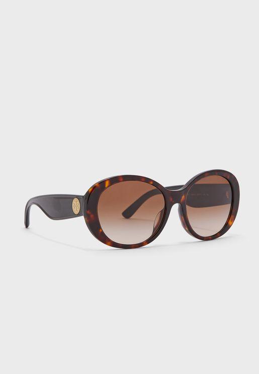 0Ty7148U Oversized Sunglasses
