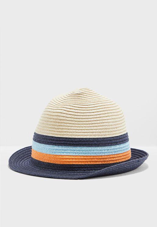Kids Striped Hat