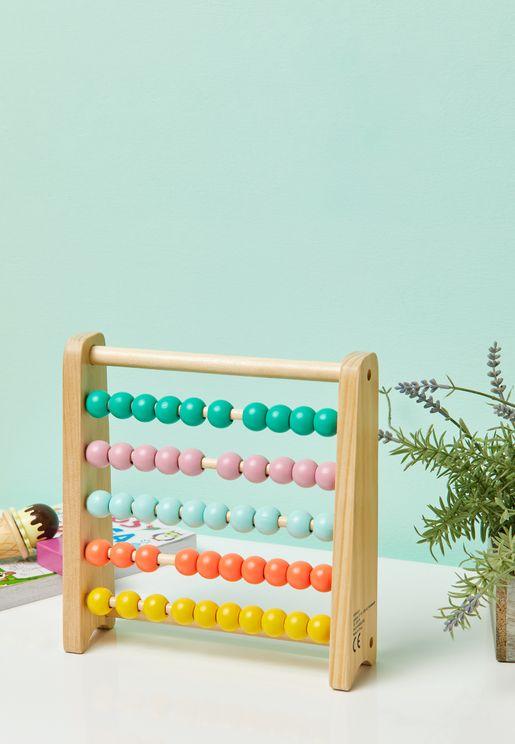 لعبة العد الخشبية