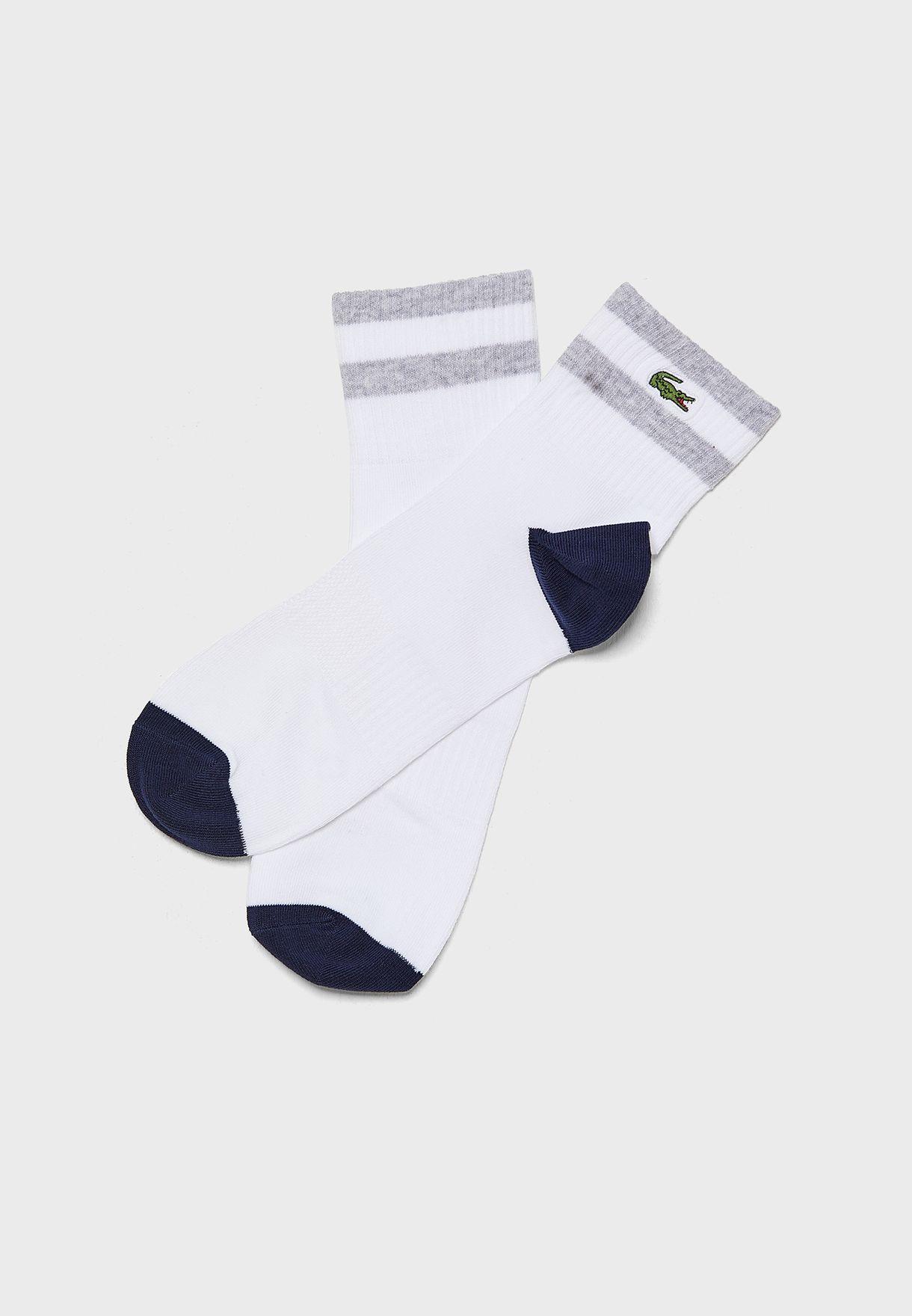 Striped Low Cut Socks