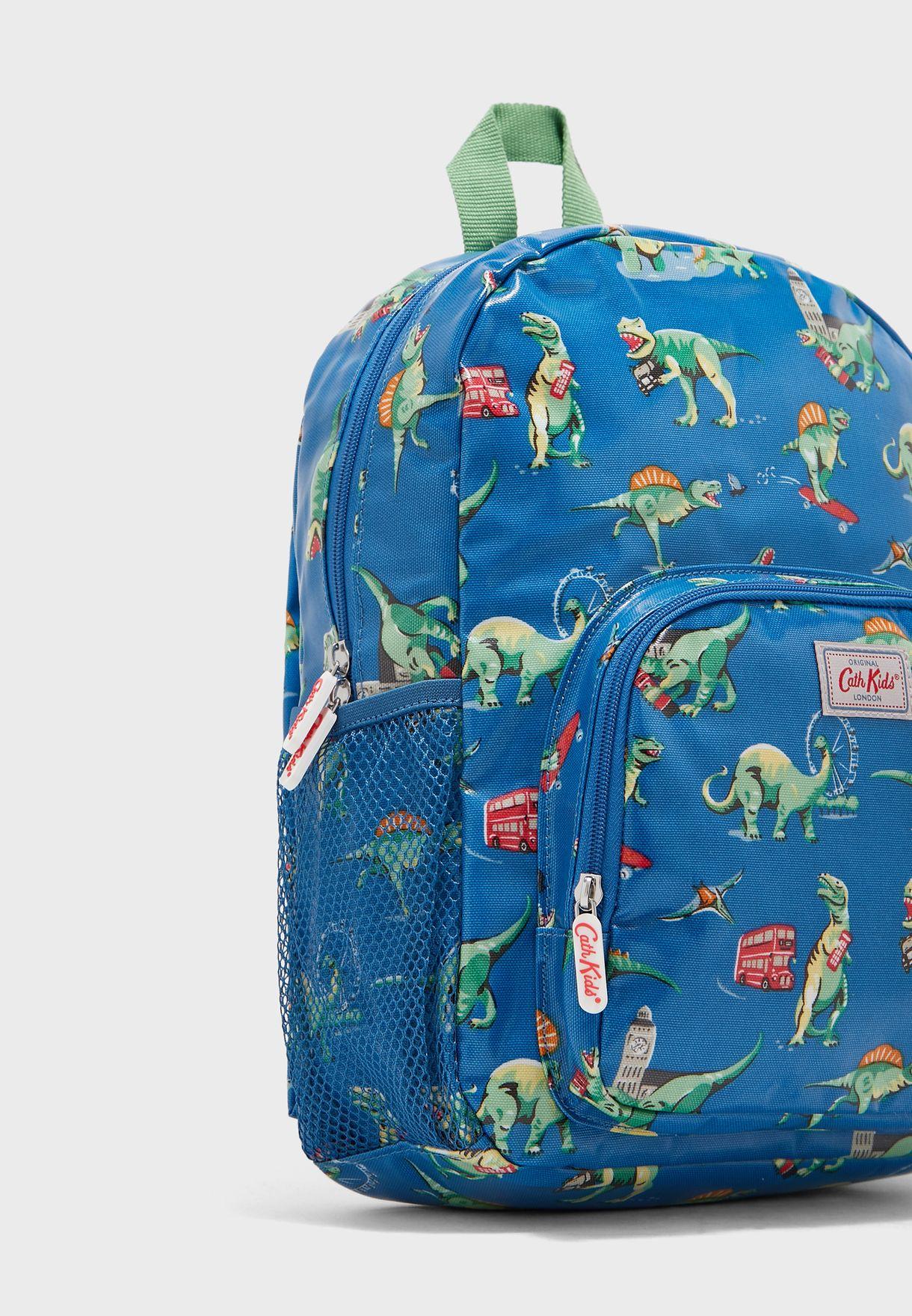 Kids Dinos In London Backpack