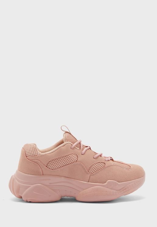 Bubble Sole Low Top Sneaker
