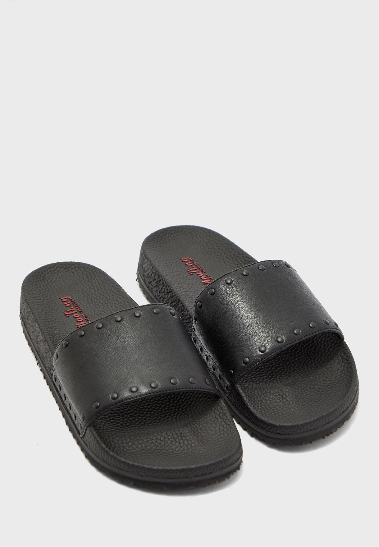 Buy John Varvatos black Studded Pool