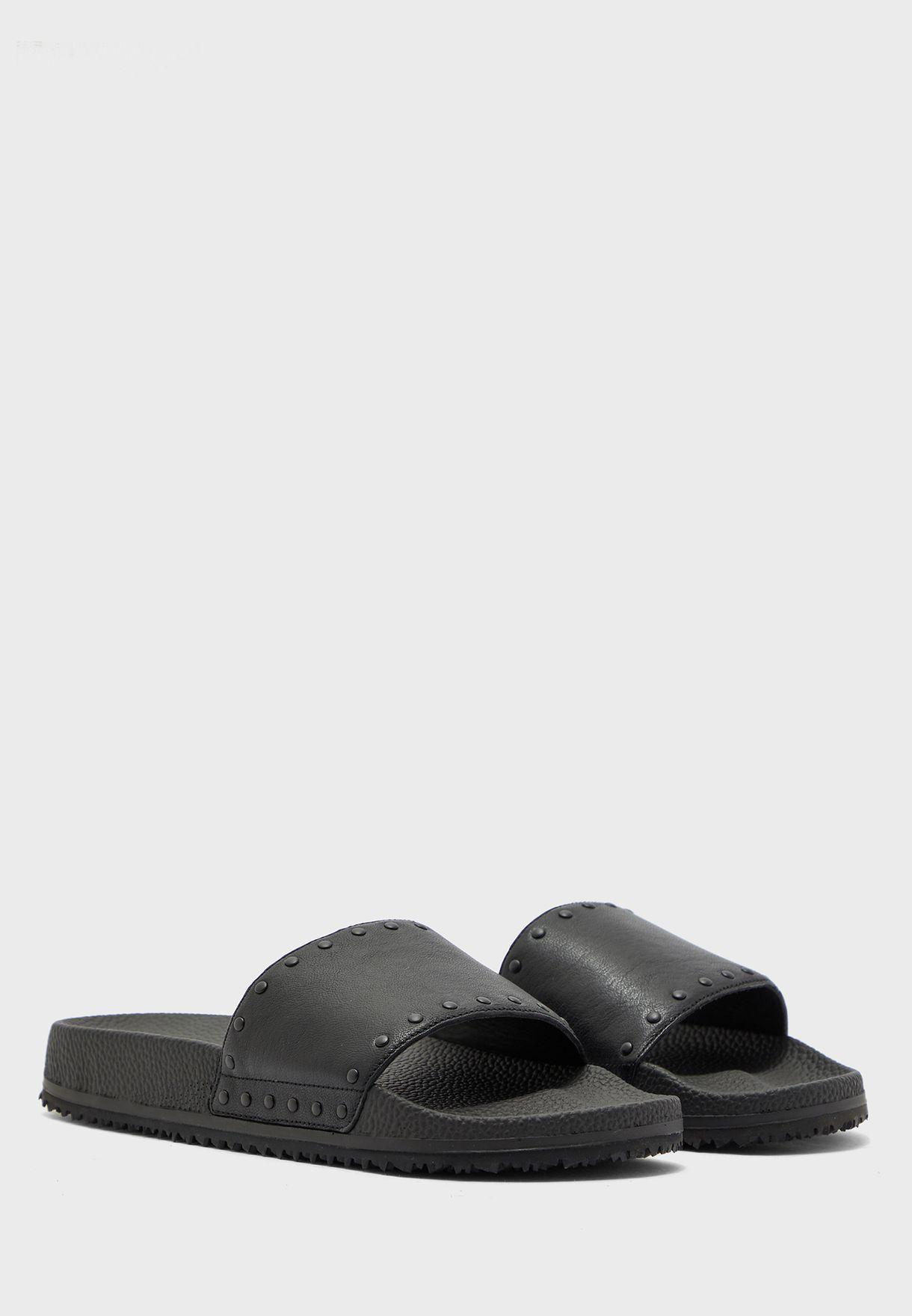 Studded Pool Sandals