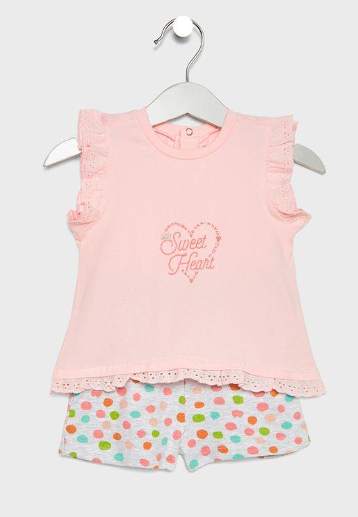 Infant Printed Pyjama Set