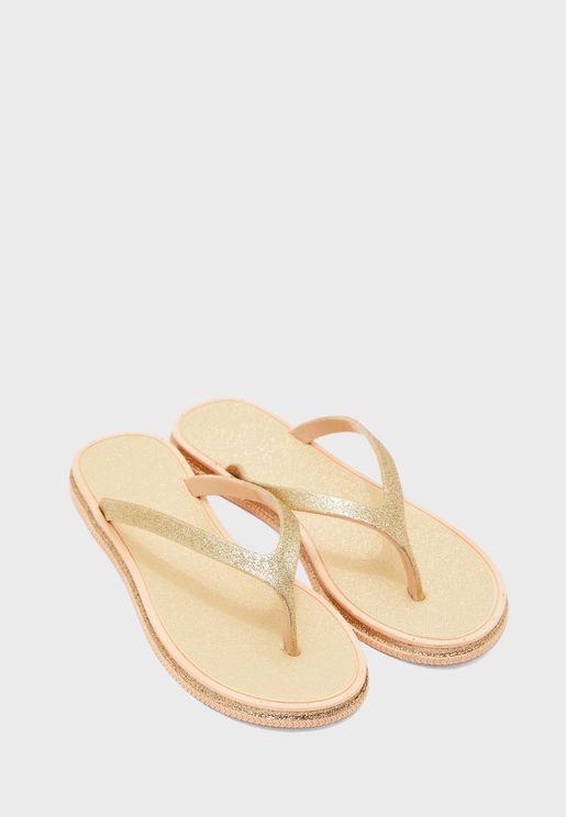 Ladies Glitter Sandal