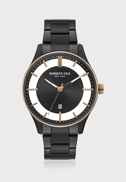 KC50919001 Steel Strap Analog Watch