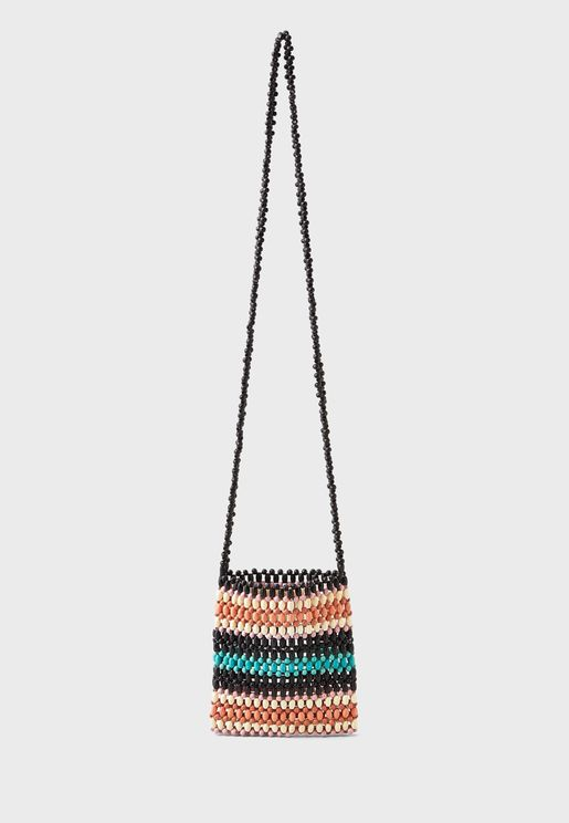 Mini Beaded Crossbody