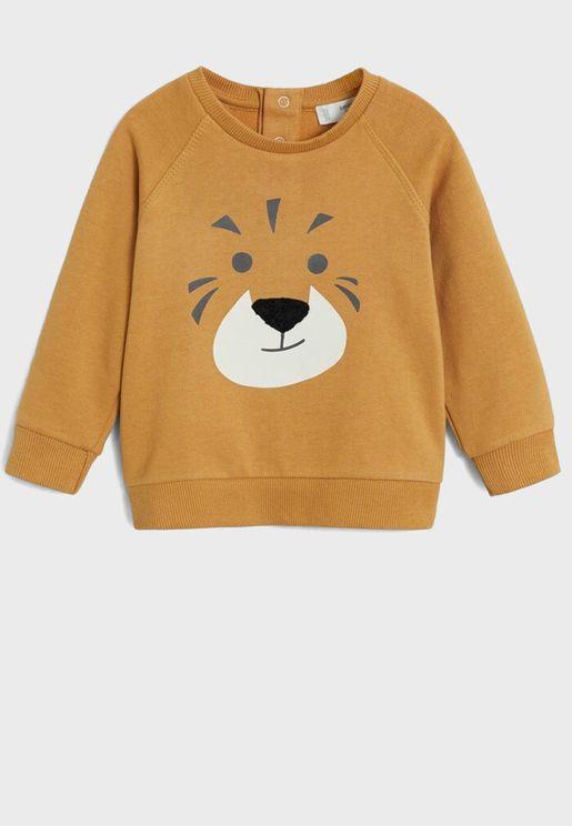 Infant Printed Sweatshirt