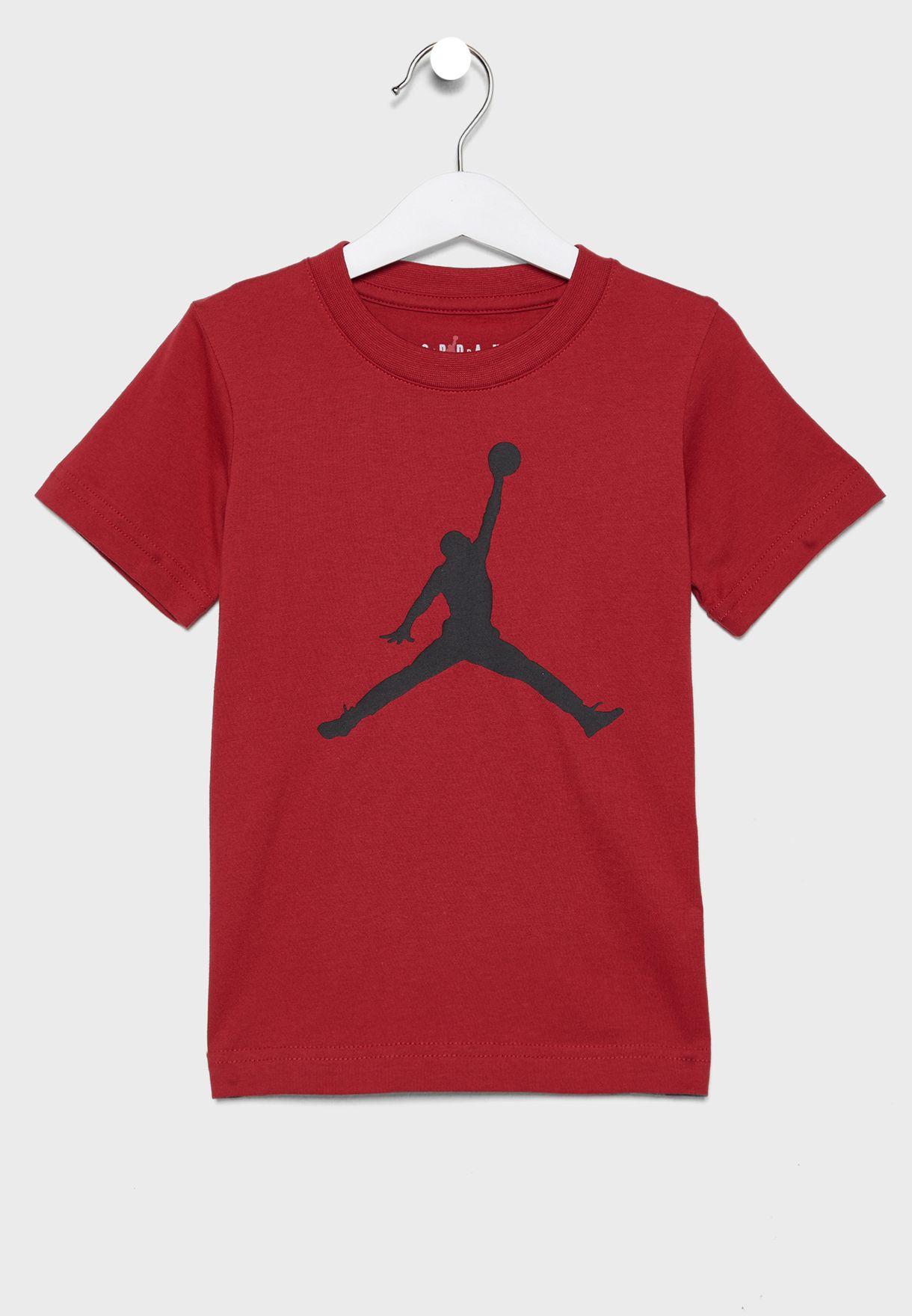 Buy Nike red Kids Jordan Jumpman T