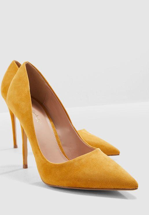 Caterina Stiletto Court Shoe