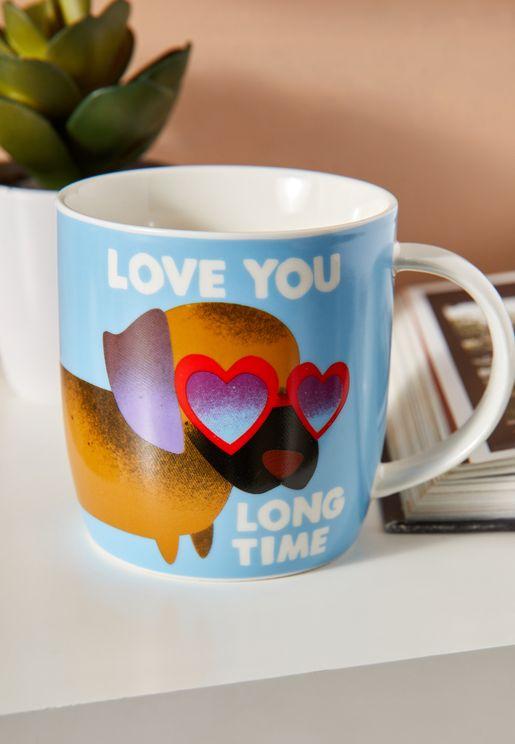 Jolly Awesome Sausage Dog Love Mug