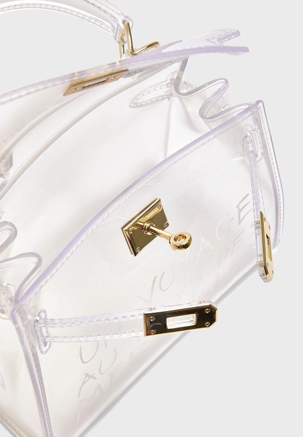 Print Detail Handbag
