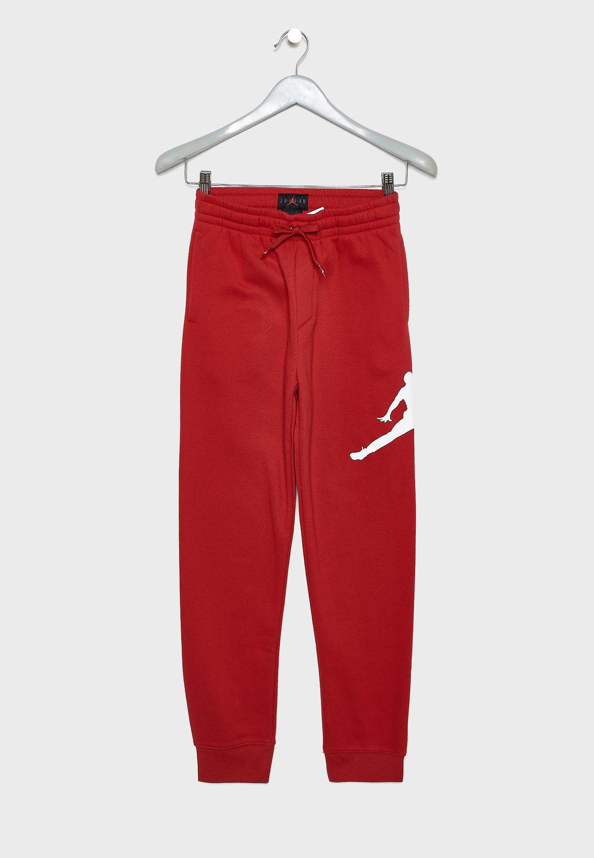Buy Nike red Youth Jordan Jumpman Logo