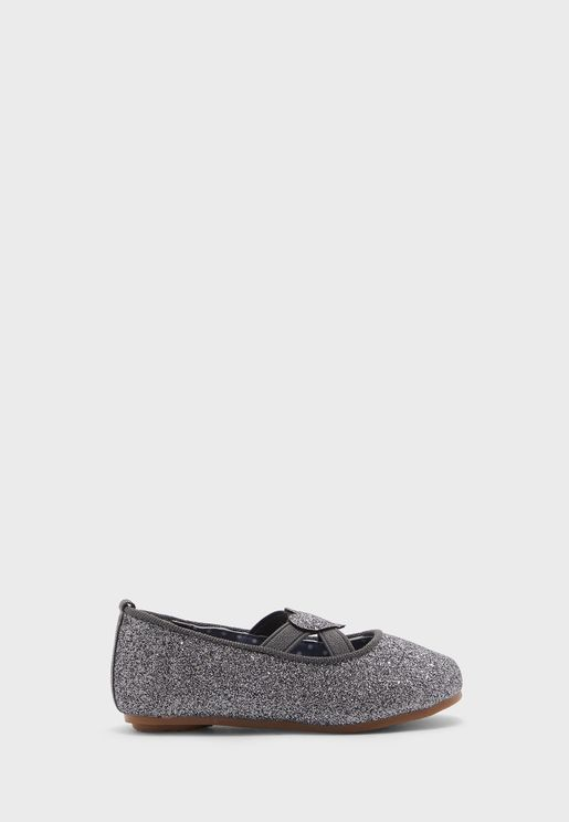 حذاء باليرينا براق