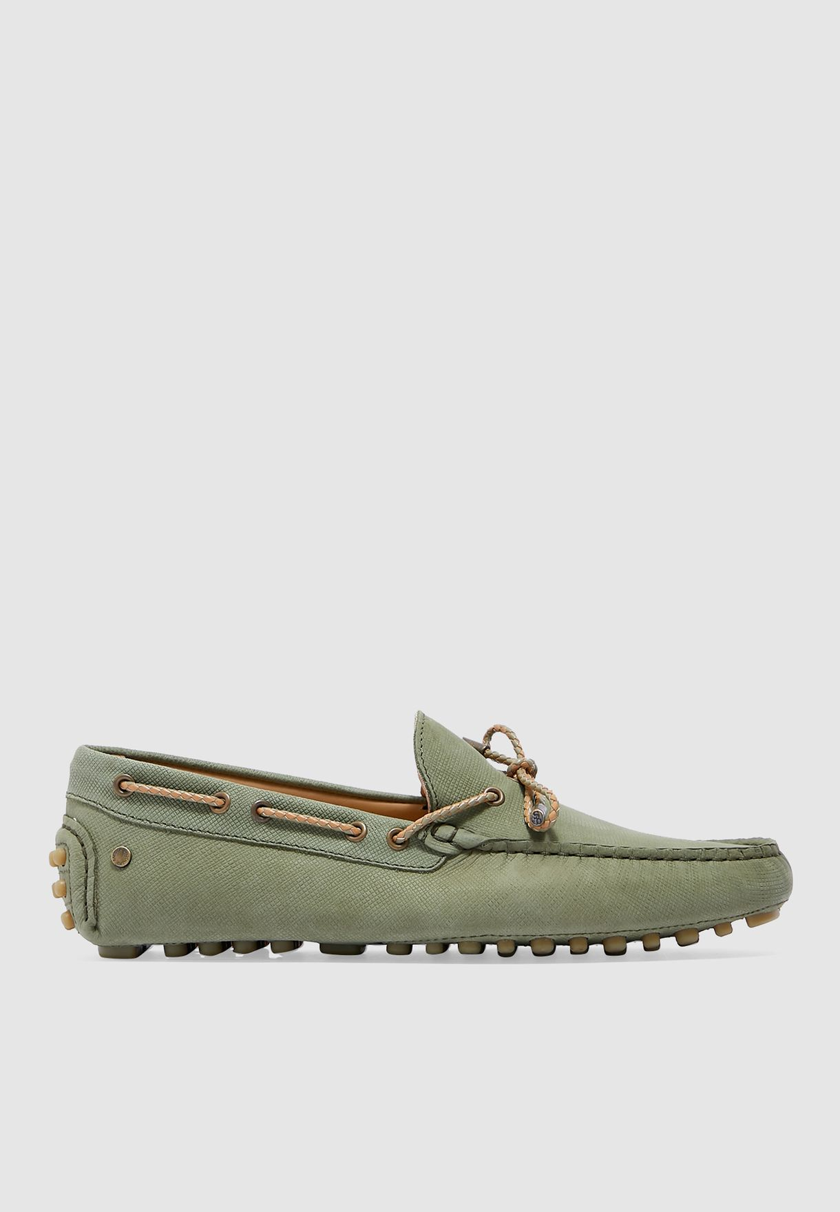 حذاء لوفر جلد اصلي