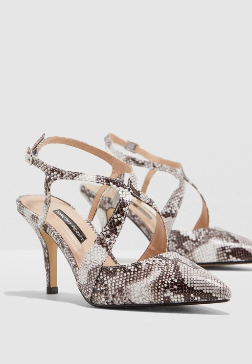 Enigma Court Shoe