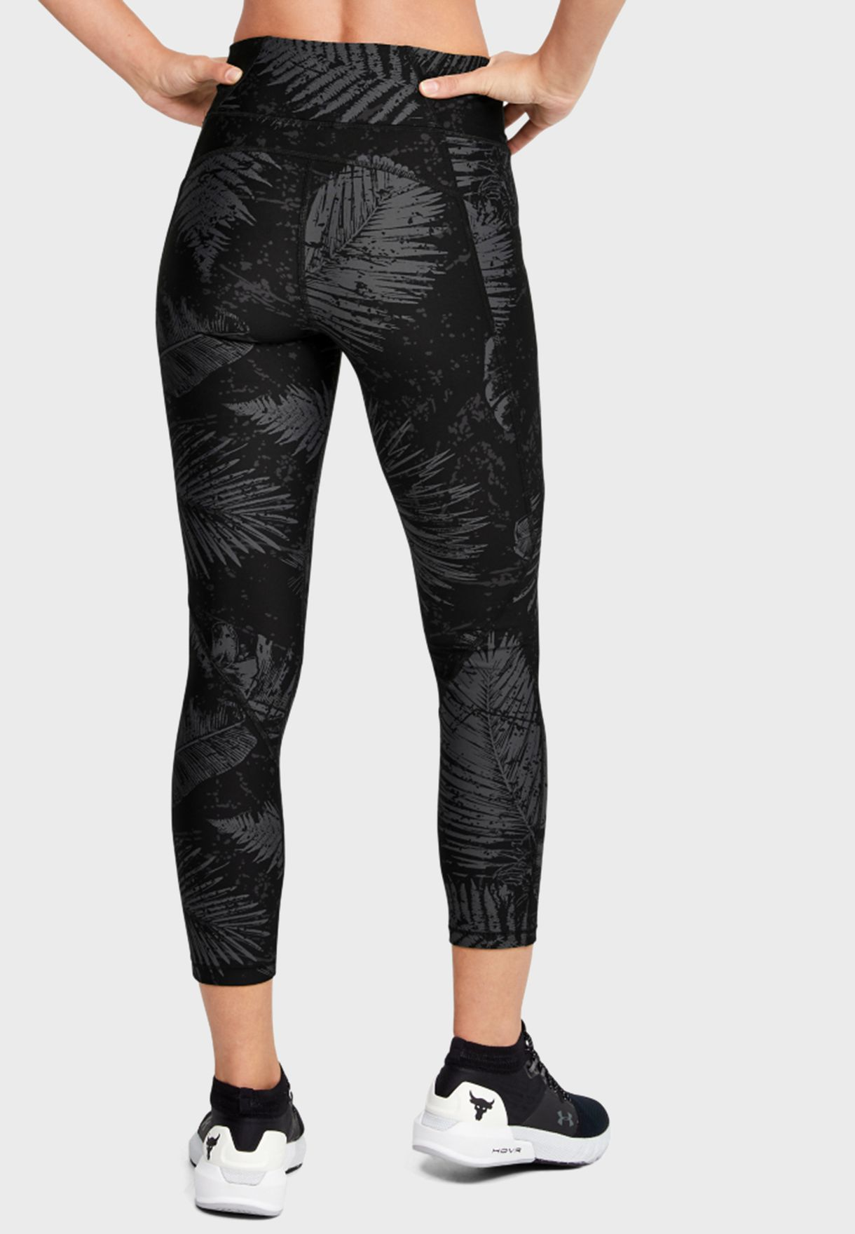 Project Rock HeatGear Armour Ankle Cropped Tights