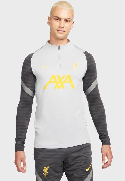 Liverpool Strike Dril Sweatshirt