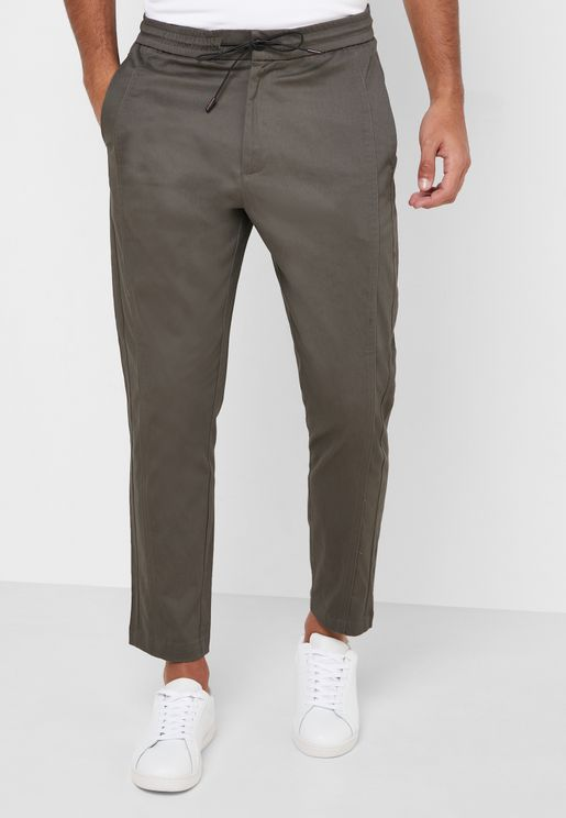 Relaxed Drawstring Pants