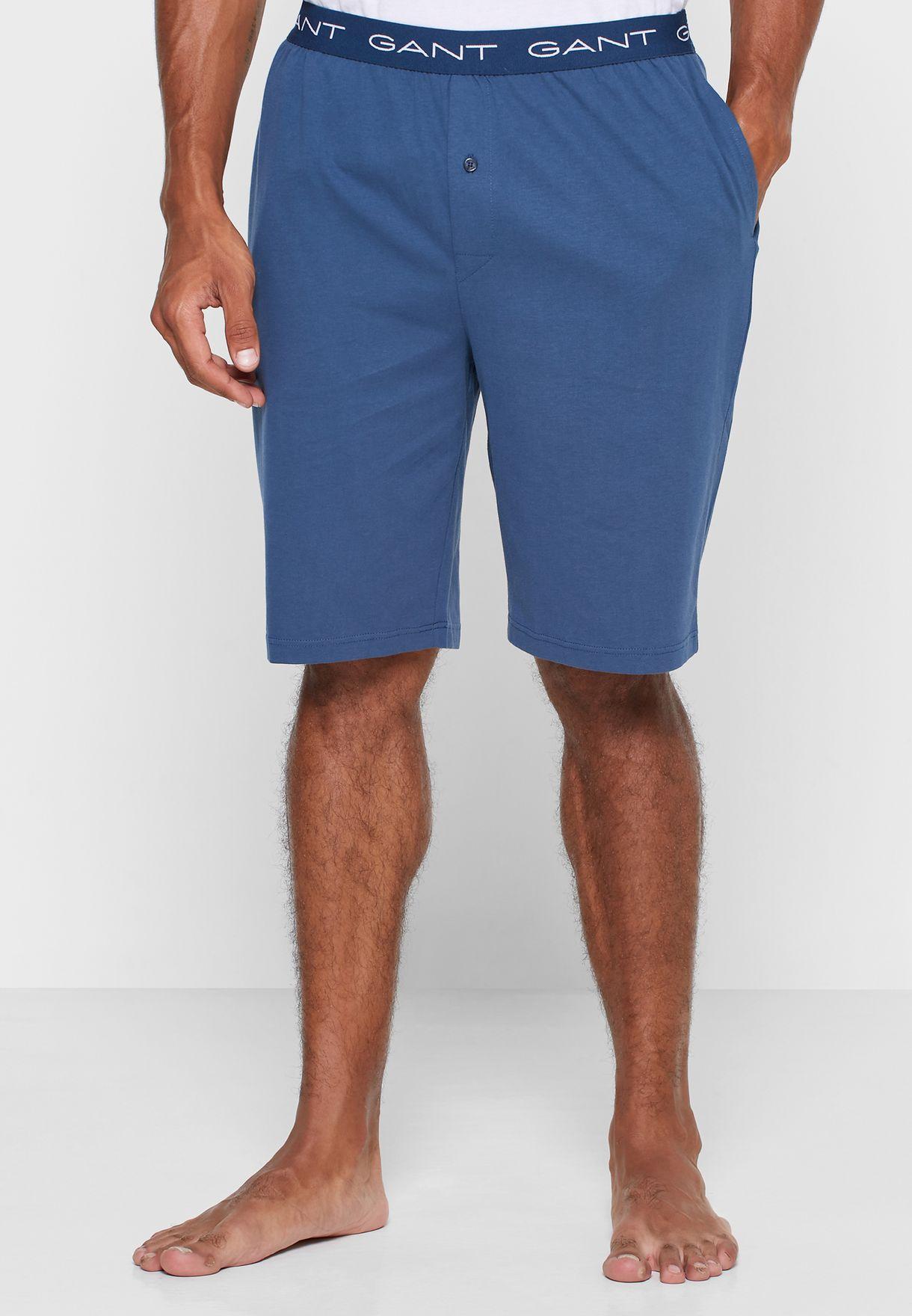 Logo Band Pyjama Shorts
