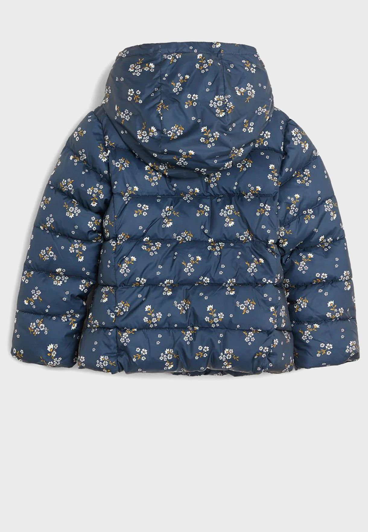 Kids Floral Puffer Down Jacket