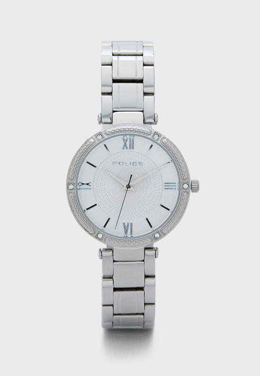Chiba Steel Strap Watch