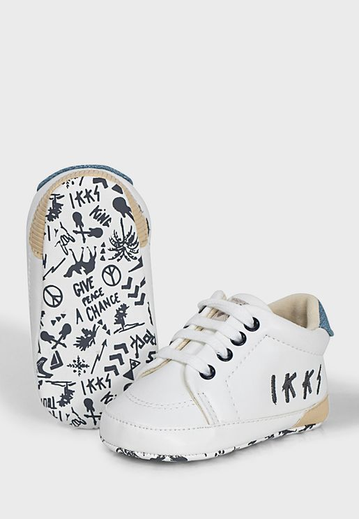 Infant Printed Sole Sneaker