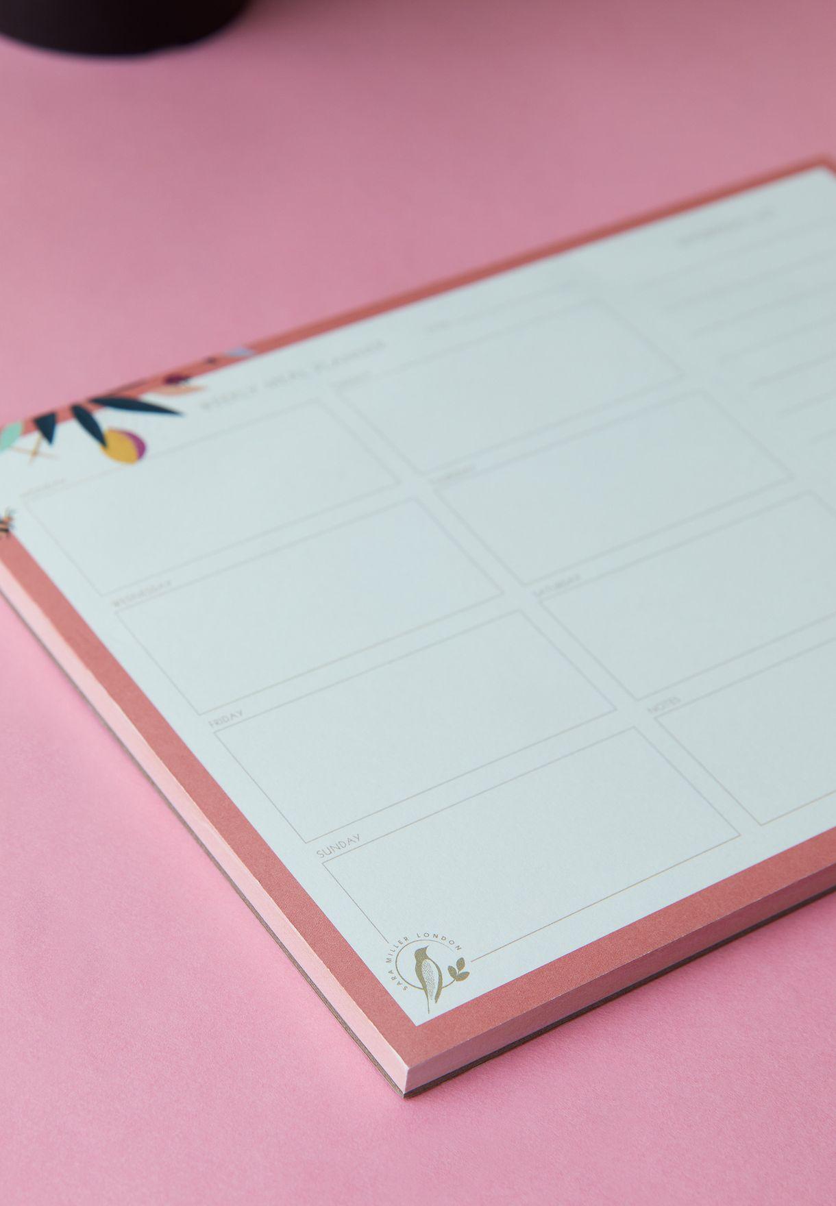 دفتر اسبوعي مغناطيسي لتخطيط الوجبات