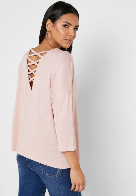 Strappy Back Top