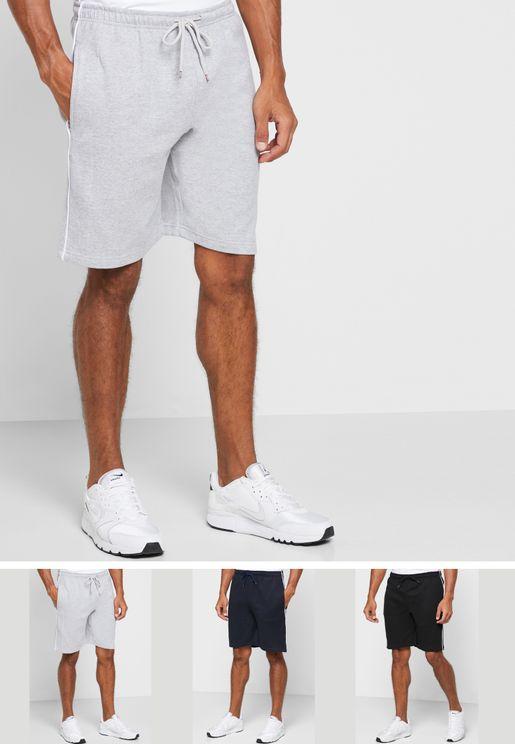 3 Pack Shorts