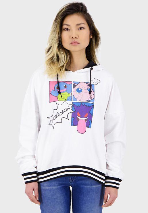Pokémon - Pop Art Group  Hoodie